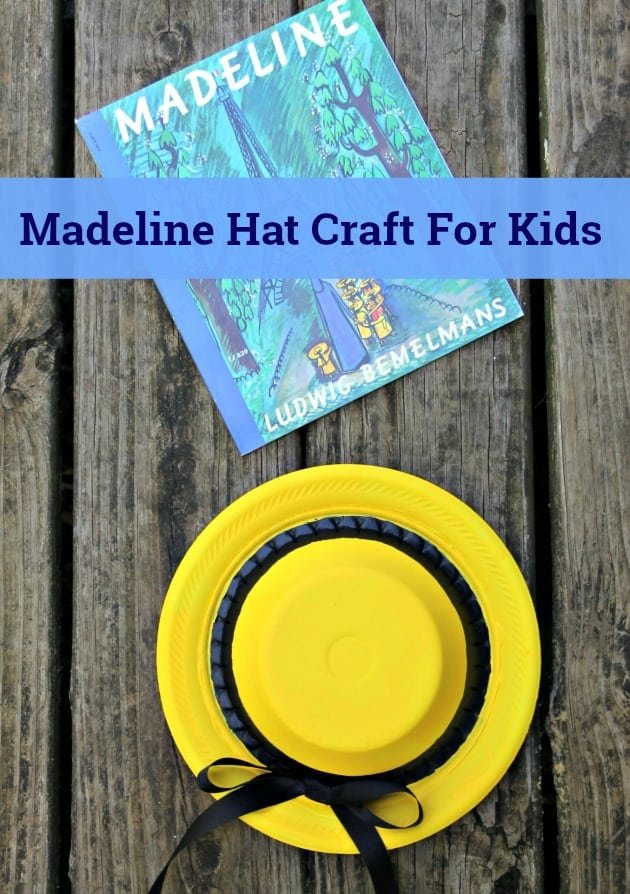 Madeline Hat Craft For Kids