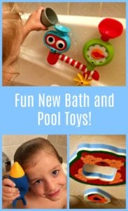 Need Some New Pool Toys? Check Your Bathtub!