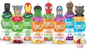 good2grow Juices with New Avengers Character Tops + Reader Giveaway