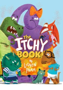 The Itchy Book by LeUyen Pham (Elephant & Piggie Like Reading! Series) + Reader Giveaway
