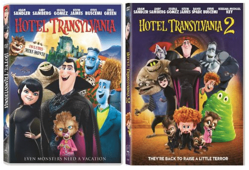 Hotel Transylvania DVDs