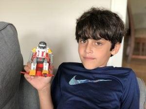 Soccerborg Robot Soccer Game