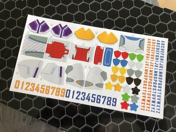 Soccerborg Stickers