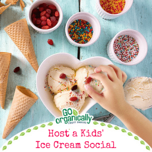 Host a Kids' Ice Cream Social + Reader Giveaway