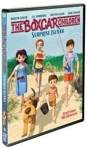 THE BOXCAR CHILDREN – SURPRISE ISLAND on Blu-ray + Free Printables + Reader Giveaway