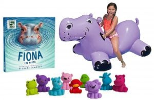 Read About an Amazing Hippopotamus in FIONA THE HIPPO + Reader Giveaway