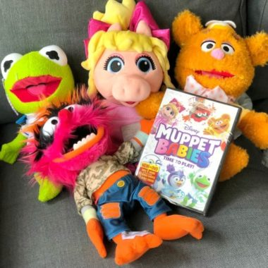 Muppet Babies Plush DVD