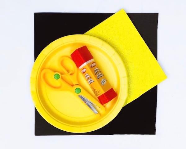 Winnie the Pooh Paper Plate Craft Supplies Foam Glue