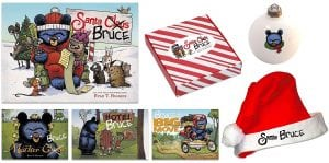 Celebrate the Holidays (Yes, They're Coming!) with Santa Bruce + Reader Giveaway
