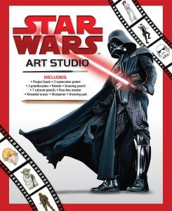 Three New Summer Activity Books (Including Star Wars Art Studio!) + Reader Giveaway