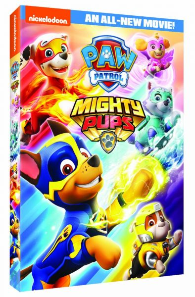 PAW PATROL MIGHTY PUPS on DVD