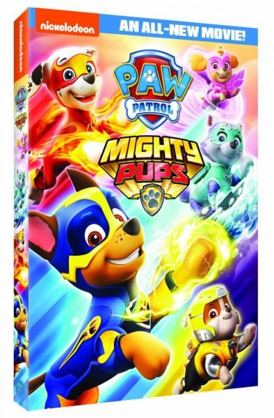 Paw Patrol Mighty Pups On Dvd September 11 Reader