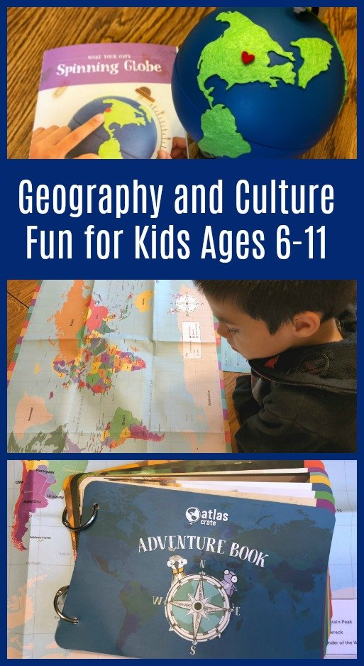 KiwiCo's NEW Atlas Crate for Kids Ages 6-11 – Geography and