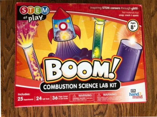 Boom Combustion Science Lab Kit Review