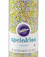 Wilton 710-956 Spring Nonpareils Bottle, 5-Ounce