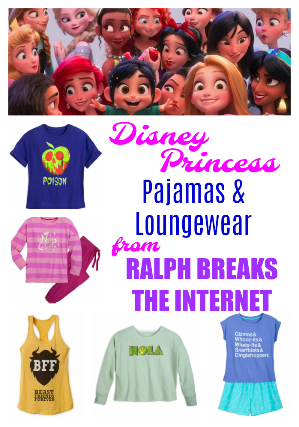 Ralph Breaks the Internet Princess Pajamas