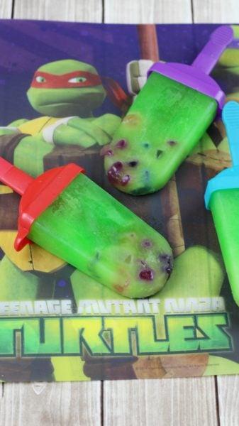 Teenage Mutant Ninja Turtles Popsicles