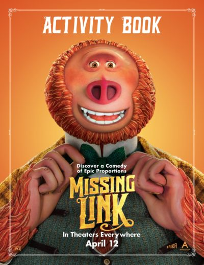 Printable MISSING LINK Activity Book