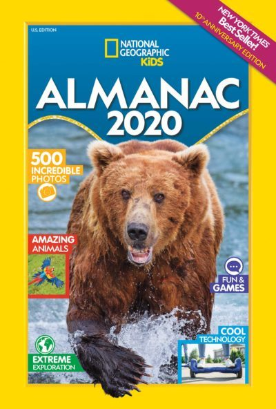 Summer Ideas For Kids 2020 National Geographic Kids NEW Almanac 2020 – Fun for Summer +