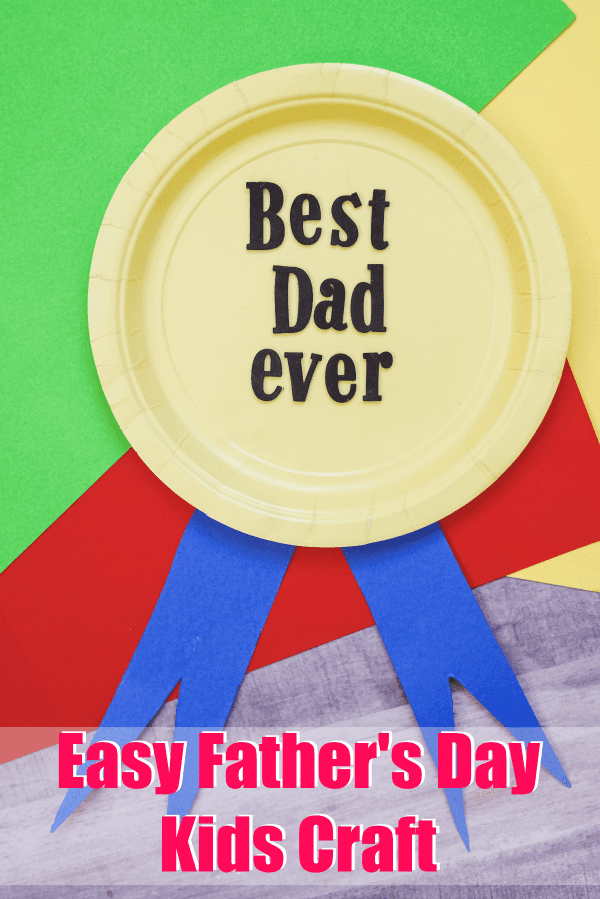 Easy Fathers Day Kids Craft