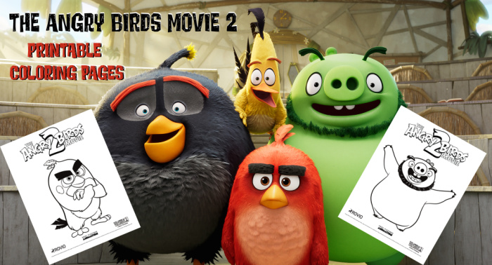 photo regarding Angry Birds Printable identified as The Offended Birds Video clip 2 Printable Coloring Internet pages - Jinxy Children