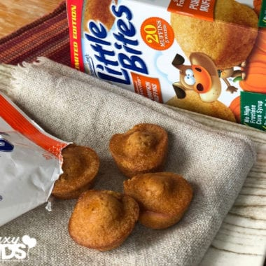Little Bites Pumpkin Muffins