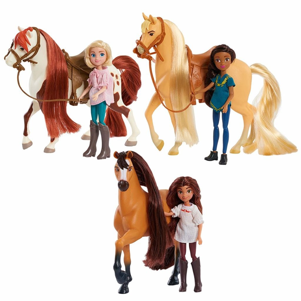 DreamWorks Spirit Riding Free Collector Doll & Horse Assortment
