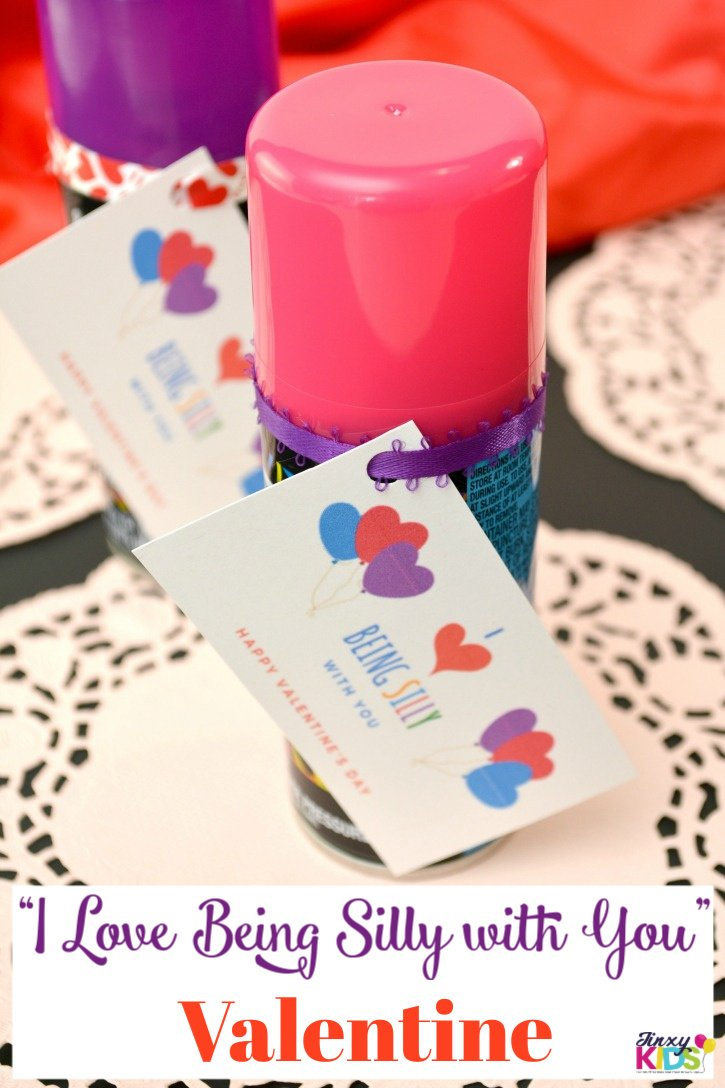 """I Love Being Silly with You"" Valentine Craft"