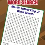 Free Printable Martin Luther King Jr Word Search