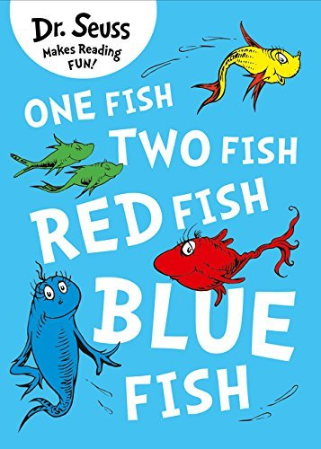 One Fish Two Fish Red Fish Blue Fish Dr. Seuss Book