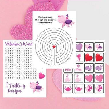 Printable Valentines Day Activity Pack