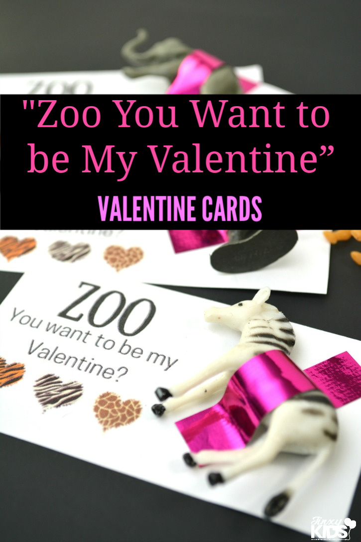 """Zoo You Want to be My Valentine"" Valentine Card Craft"