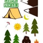FREE Camping Printable