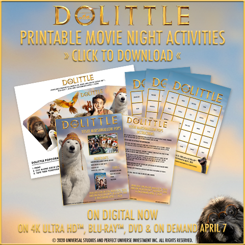Free Printable Dolittle Activity Sheets