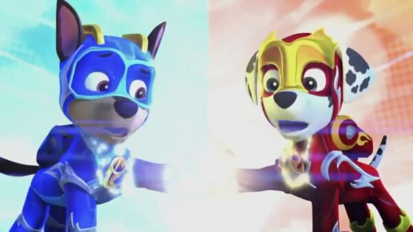 Paw Patrol Mighty Pups Charged Up Now On Dvd Reader Giveaway Jinxy Kids