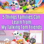 My Talking Tom Friends Lessons