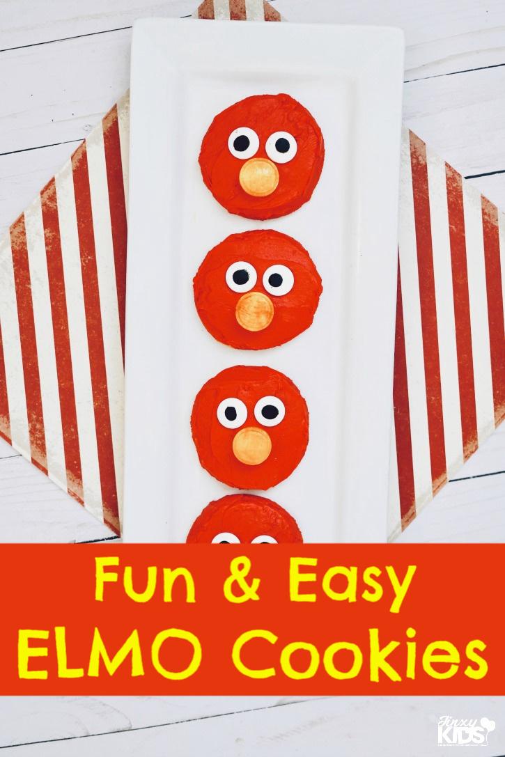 Fun & Easy Elmo Cookies the Kids will Love!
