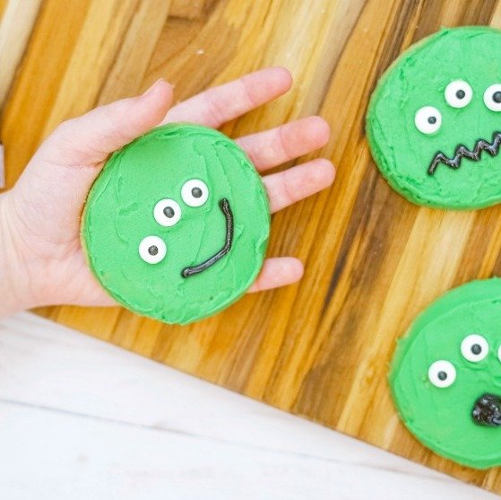 Toy Story Alien Cookies for Kids