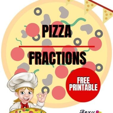 Pizza Fractions Printable