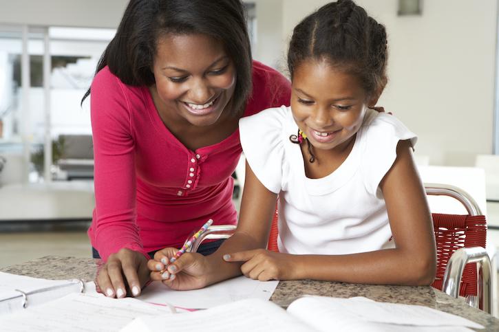 Mother Daughter Homeschool African American