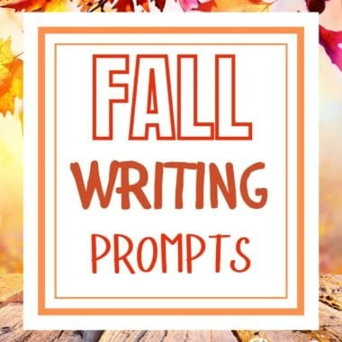 Printable Fall Writing Prompts for Kids
