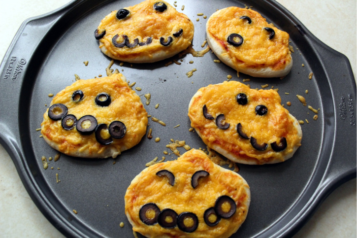 Halloween Mini Pumpkins process