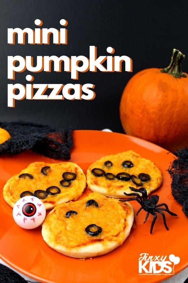 mini pumpkin pizzas recipe