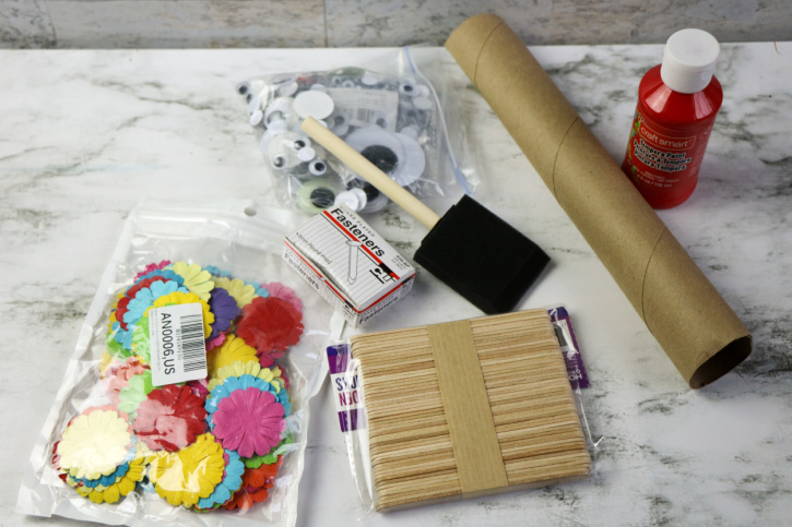 Chinese New Year Dragon Craft supplies needed