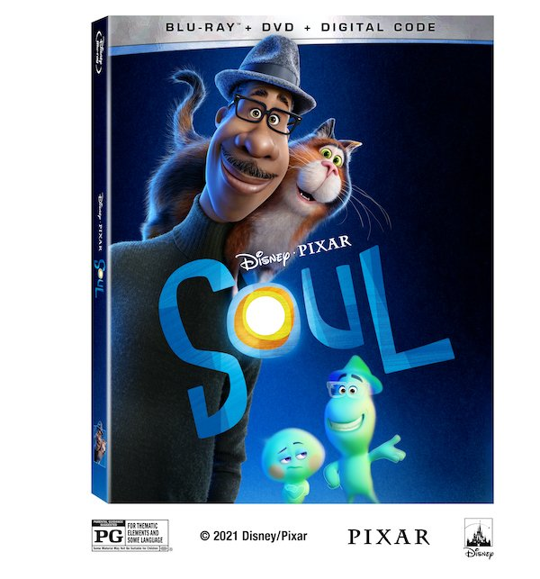 Soul BluRay and DVD