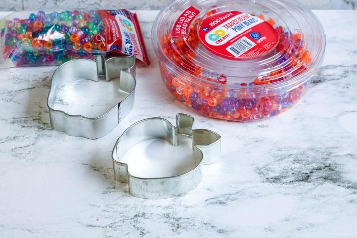 Melted Beads Apple Suncatchers Craft supplies needed