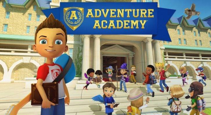 Adventure Academy main page